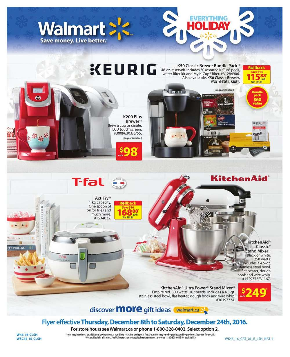 walmart kitchen canada from com may appliances catalogue to pin