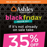 Ashley Furniture Homestore Flyer November 22 - 28 2018