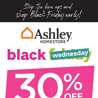 Ashley Furniture Homestore Black Friday November 28 - December 4 2019