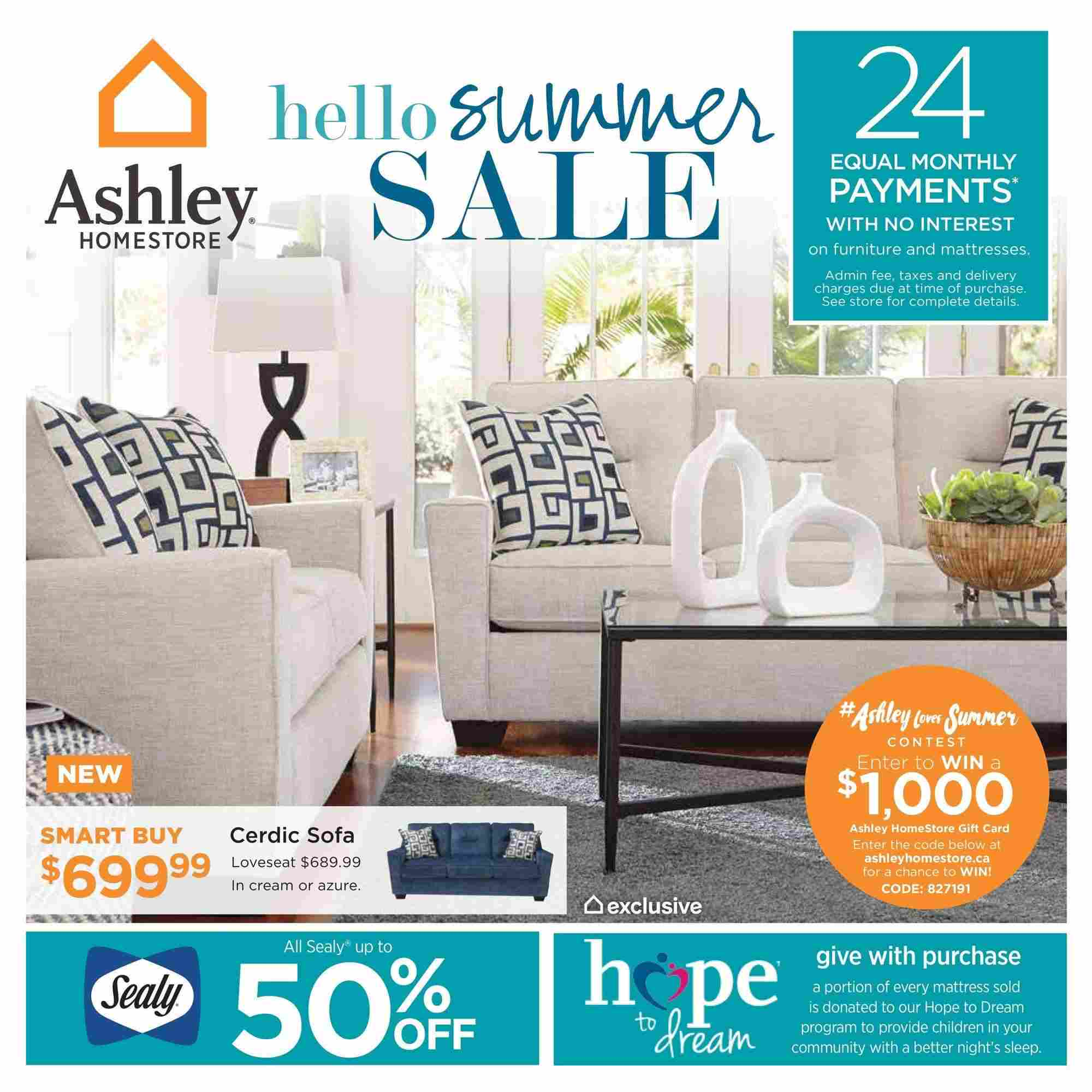 Ashley Furniture Home Flyer On