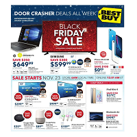 Best Buy Flyer Black Friday Sale November 23 - 23 2018