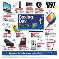 Best Buy Boxing Day December 18 - 24 2020