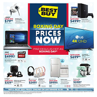 Best Buy Flyer Boxing Day Prices December 15 - 24 2017
