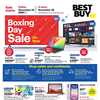 Best Buy Boxing Day Sale December 24 - 31 2020
