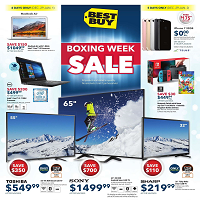 Best Buy Boxing Week Sale December 29 - January 4 2018