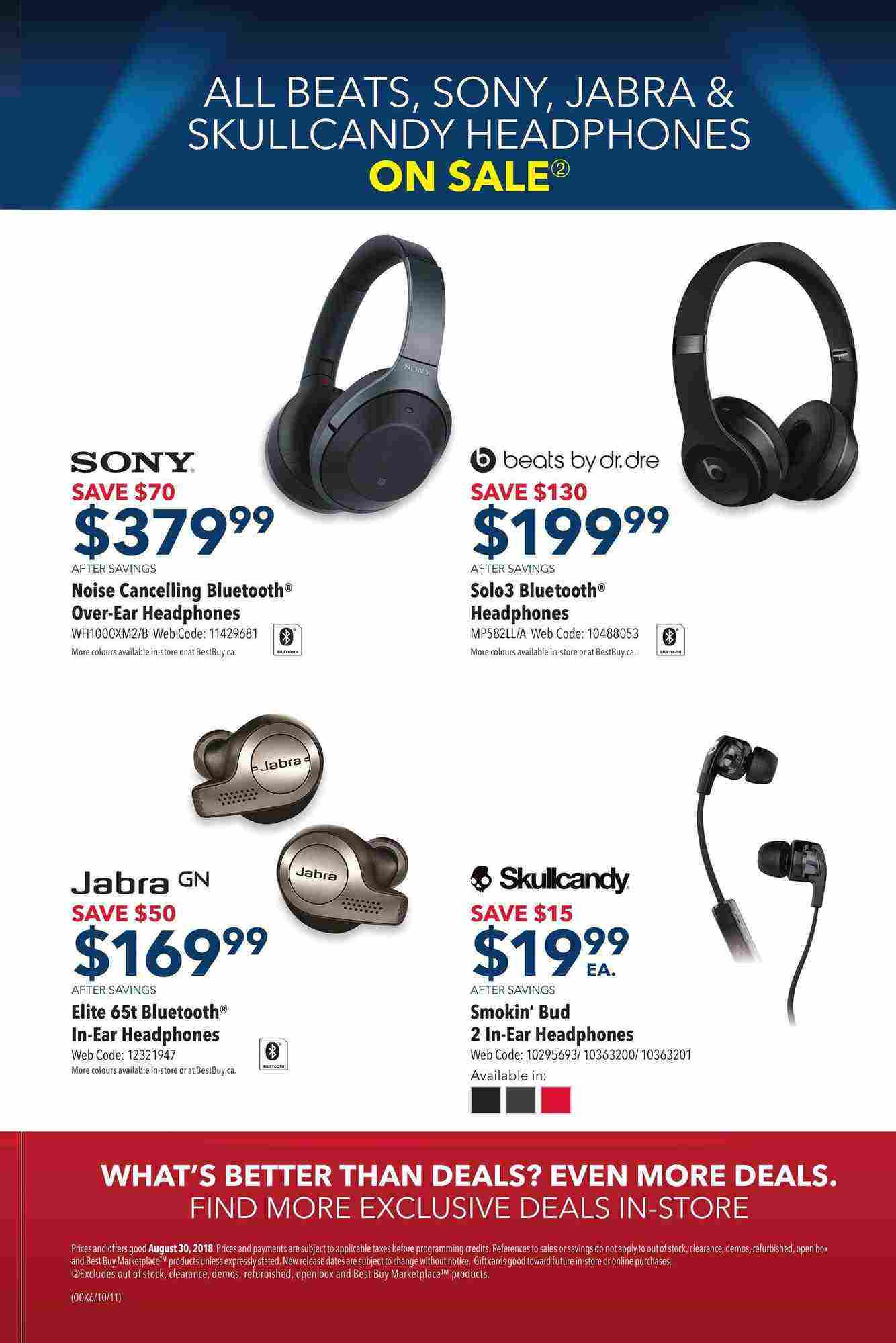 Best Buy Flyer On Early Labour Day Vip Sale August 30 30 2018