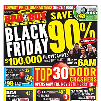 Bad Boy Furniture Black Friday November 28 - December 4 2019