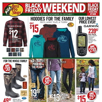 Bass Pro Shops Black Friday November 27 - December 1 2019