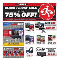 EB Games Black Friday November 28 - December 2 2019