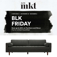 Elte MKT Black Friday November 29 - December 2 2019