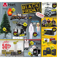 Hart Stores Black Friday November 27 - December 3 2019
