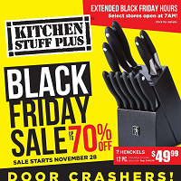 Kitchen Stuff Plus Black Flyer November 28 - December 8 2019