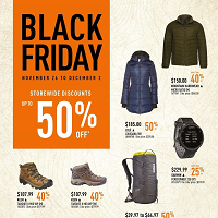 SAIL Black Friday November 26 - December 2 2019