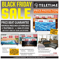 TeleTime Black Friday November 29 - December 11 2019