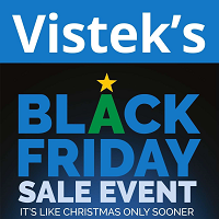 Vistek Black Friday November 29 - December 5 2019