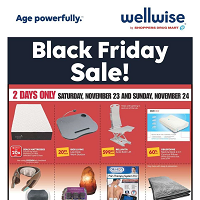 Wellwise by Shoppers Drug Mart Black Friday Sale November 23 - 29 2019