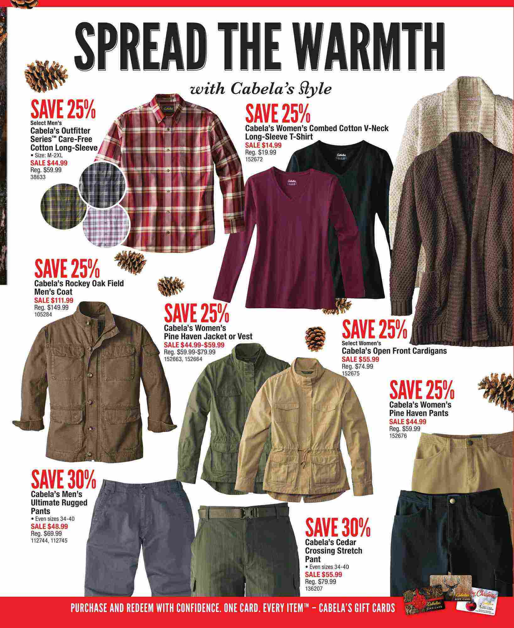 Cabela's Canada Flyer (AB) Holiday Gift Guide November 2