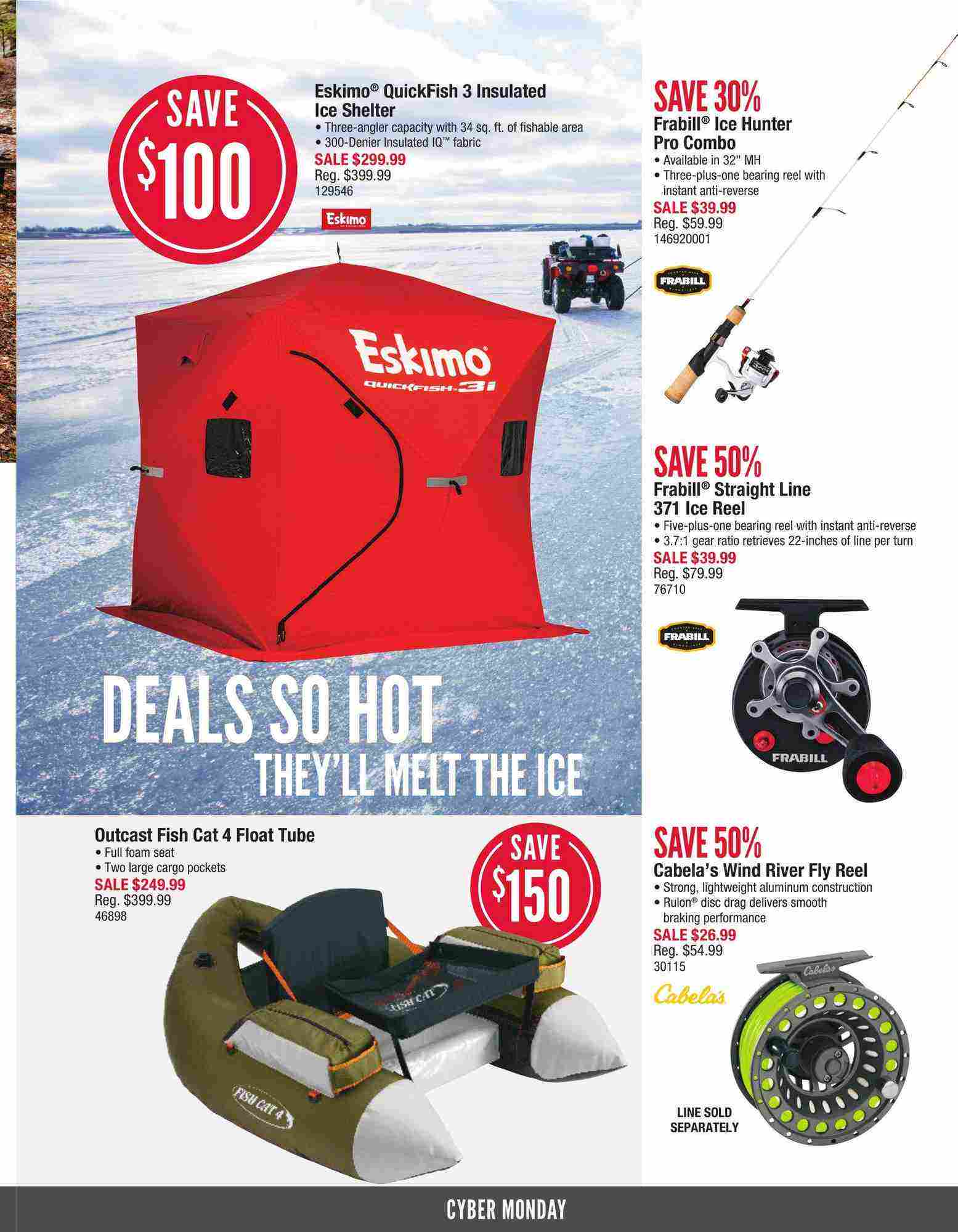 Cabela's Canada Flyer (ON) Cyber Monday November 26 - 30 2017