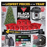 Canadian Tire Flyer November 22 - 25 2018