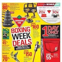 Canadian Tire Flyer Boxing Week Deals December 21 - 27 2018