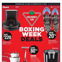Canadian Tire December 26 - 31 2020
