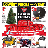 Canadian Tire Red Thursday November 23 - 26 2017