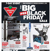 Canadian Tire Flyer November 16 - 22 2018
