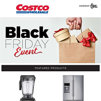 Costco Black Friday Event November 23 - 25 2018