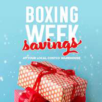 Costco Flyer Boxing Week Savings December 26 - 30 2018