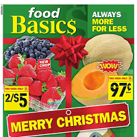Food Basics Flyer December 28 - January 3 2018