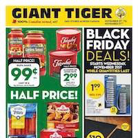 Giant Tiger Flyer November 21 - 27 2018