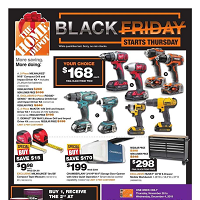 Home Depot Black Friday November 28 - December 4 2019