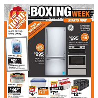 Home Depot Boxing Week December 26 - January 1 2020