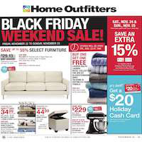 Home Outfitters Flyer November 23 - 29 2018