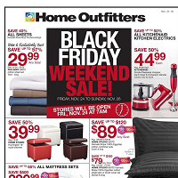 Home Outfitters Black Friday Weekend Sale November 24 - 30 2017