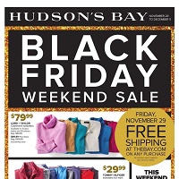 HHudson's Bay Black Friday November 29 - December 5 2019