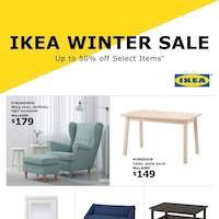 IKEA Flyer Winter Sale December 26 - January 6 2019