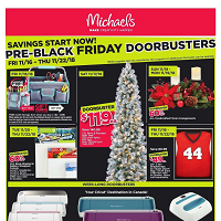 Michaels Flyer November 16 - 22 2018