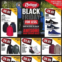National Sports Black Friday November 29 - December 5 2019