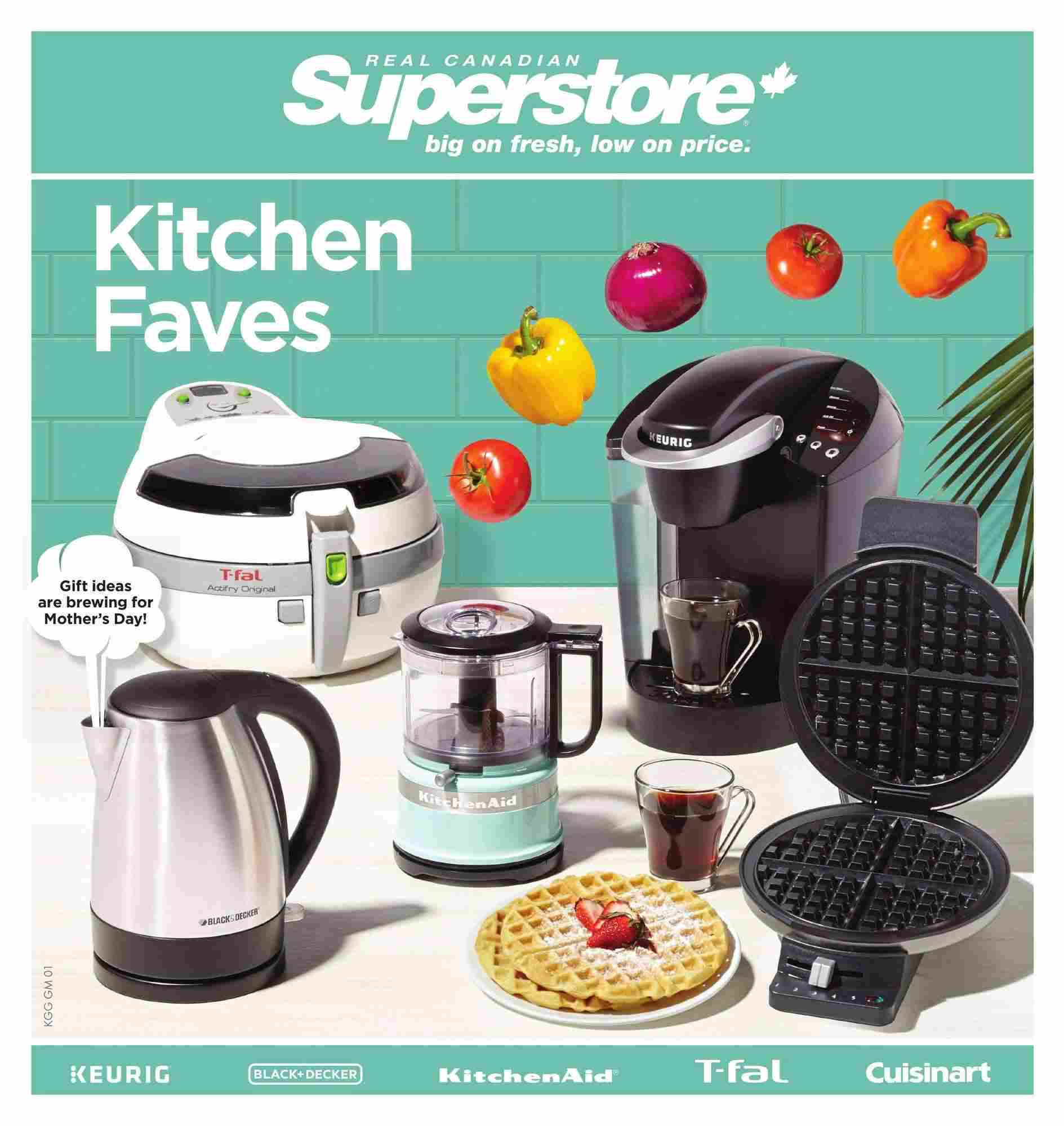 Real Canadian Superstore Flyer (ON) Gift Ideas May 5 - 18 2017