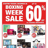 Shoppers Drug Mart Flyer Boxing Week Sale December 26 - 28 2017