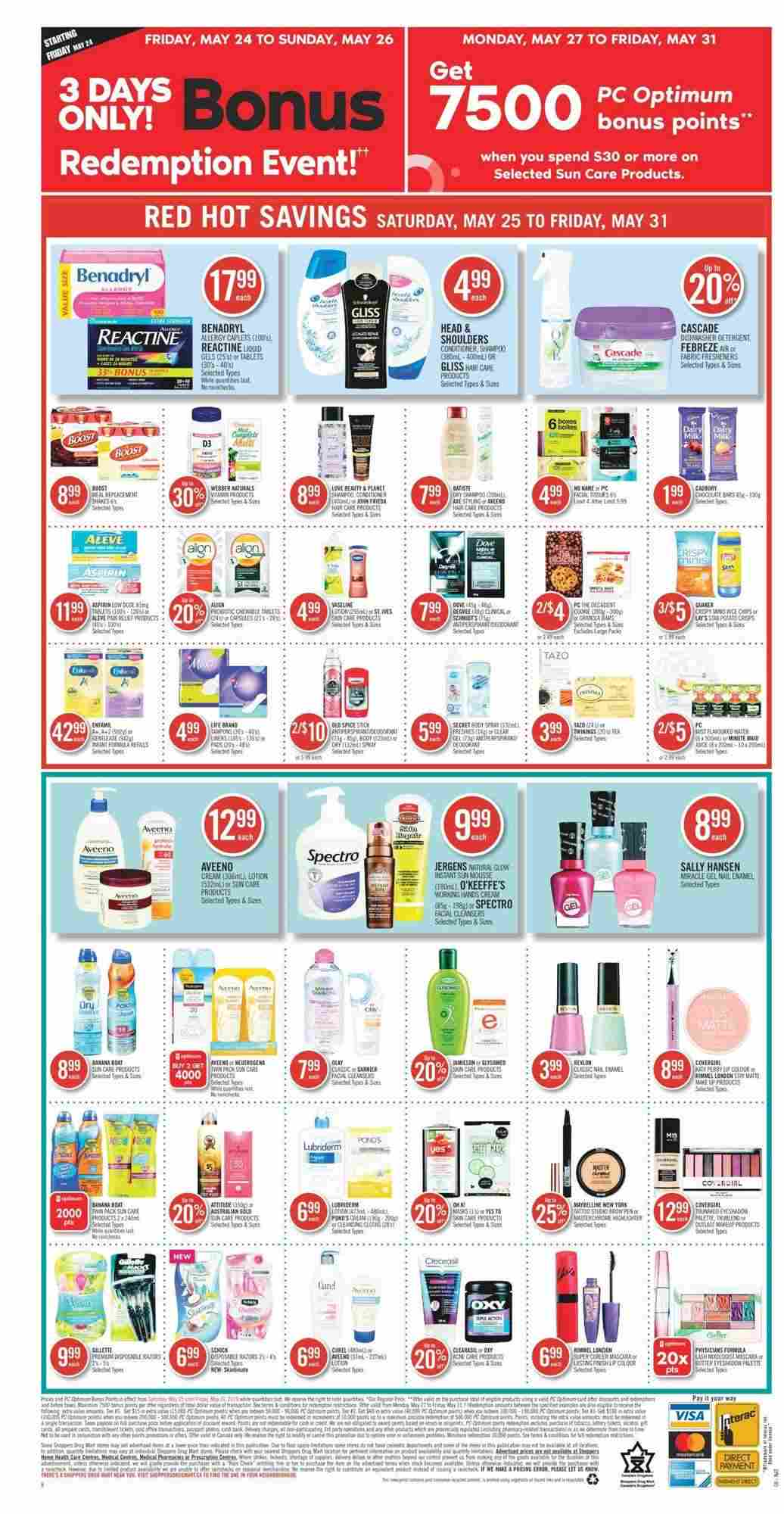 Shoppers Drug Mart Flyer (ON) May 25 - 31 2019