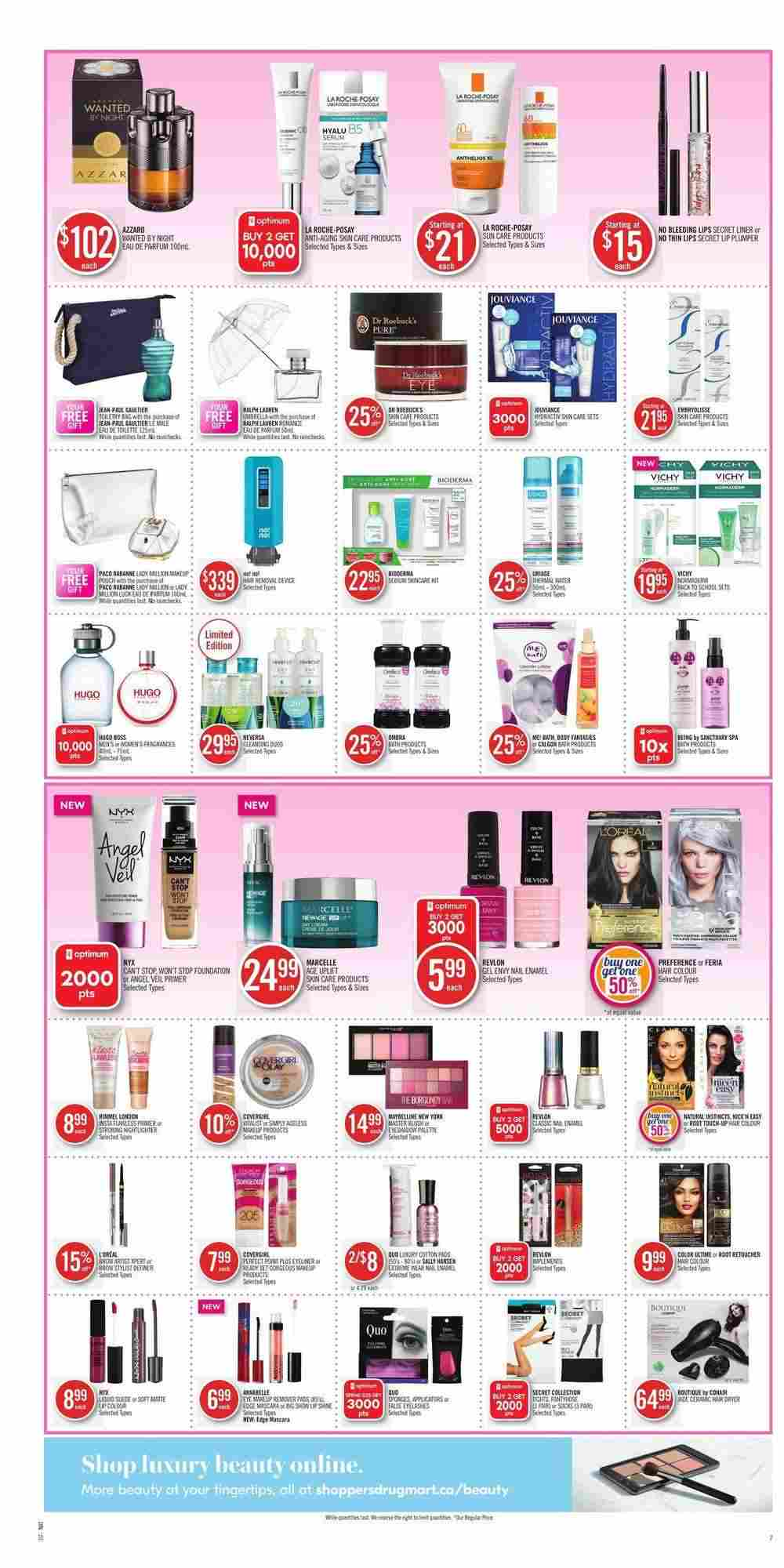 Shoppers Drug Mart Flyer (ON) September 1 - 7 2018