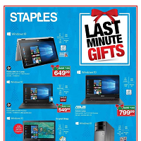 Staples Canada Last Minute Gifts December 20 - 24 2017