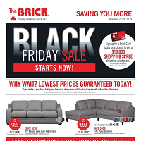 The Brick Black Friday Sale November 29 - December 5 2019