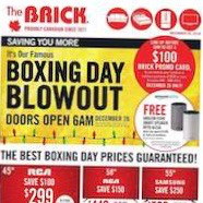The Brick Boxing Day Sale December 26 - 26 2018