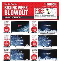 The Brick Boxing Week Blowout December 25 - January 4 2018