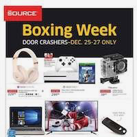 The Source Flyer Boxing Week December 25 - January 2 2019