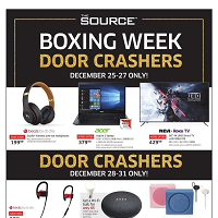 The Source Boxing Week December 25 - January 1 2020