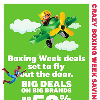 Toys R Us Boxing Week Deals December 24 - 31 2017